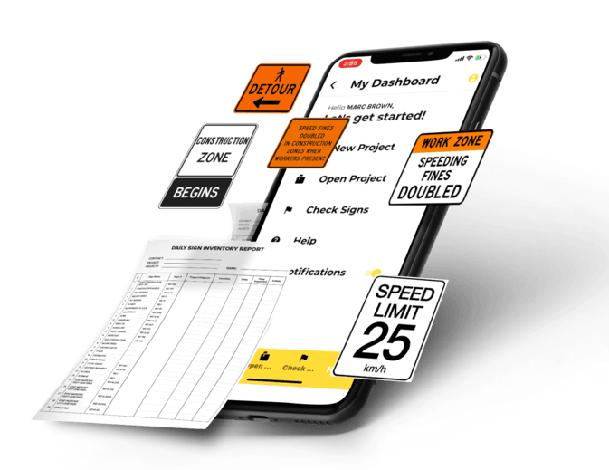 the sign tracker contact canada